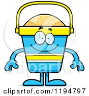 Cartoon Of A Happy Beach Pail Mascot Royalty Free Vector Clipart