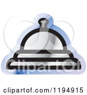 Clipart Of A Bell Office Icon Royalty Free Vector Illustration by Lal Perera