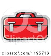 Clipart Of A Tool Box Tool Icon Royalty Free Vector Illustration