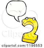 Number 2 Speaking