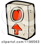 Poster, Art Print Of Red On And Off Button