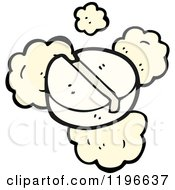 Cartoon Of A Flathead Screw Royalty Free Vector Illustration by lineartestpilot