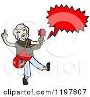 Rock Musician Speaking