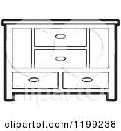 Sideboard Clip Art