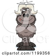 Cartoon Of A Drunk Ox Royalty Free Vector Clipart