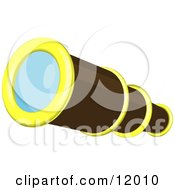 Telescope Clipart Illustration