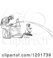 Clipart Of A Vintage Black And White Man Being Shot With Cupids Arrow Royalty Free Vector Illustration by Prawny Vintage