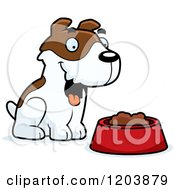Cute Jack Russell Terrier Puppy Sitting