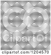 3d Mosiac Tile Background Of Brushed Metal Diamonds