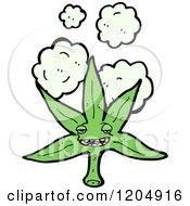 Poster, Art Print Of Smiling Pot Leaf