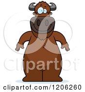 Happy Standing Buffalo