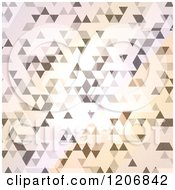 Clipart Of An Abstract Geometric Pattern Royalty Free Vector Illustration