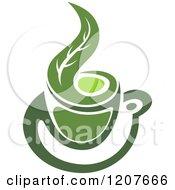 Cup Of Green Tea Or Coffee 18