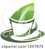 Cup Of Green Tea Or Coffee 19