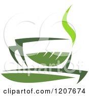 Cup Of Green Tea Or Coffee 17