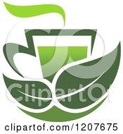 Cup Of Green Tea Or Coffee 16