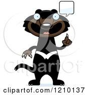 Talking Skinny Tasmanian Devil