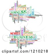 Clipart Of A Word Collage Of Business Words Royalty Free Vector Illustration by Vector Tradition SM