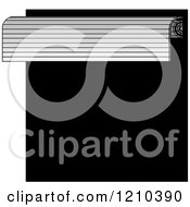 Clipart Of A Roller Door Royalty Free Vector Illustration by Lal Perera
