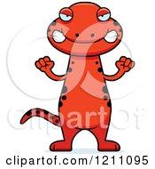 Drunk Slim Red Salamander