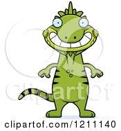 Grinning Slim Iguana