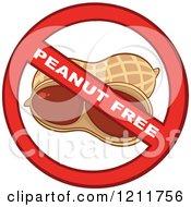 Peanut Free Allergy Symbol