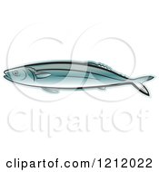 Clipart Of A Fish 2 Royalty Free Vector Illustration