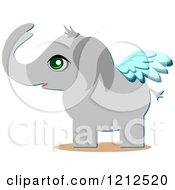 Cute Winged Elephant