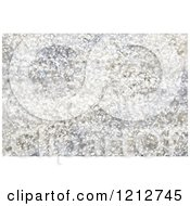 Clipart Of A Silvery Bokeh Light And Christmas Glitter Background Royalty Free CGI Illustration