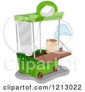 Dim Sum Vendor Food Cart