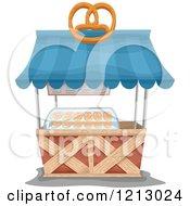 Soft Pretzel Food Cart