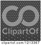 Clipart Of A Seamless Black Texture Fiber Background 6 Royalty Free Vector Illustration