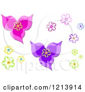 Colorful Flower Designs