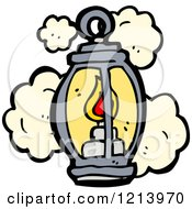 Cartoon Of A Lantern Royalty Free Vector Illustration