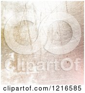Clipart Of A Gradient Pastel Scratched Texture Royalty Free Illustration