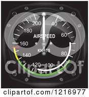 Casares Air Speed Indicator Gauge
