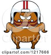 Mad Football Turkey Character