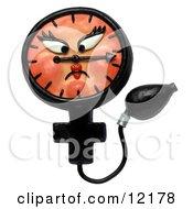 Clay Sculpture Clipart Medical Blood Pressure Gauge Royalty Free 3d Illustration