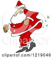 Santa Farting Christmas Trees