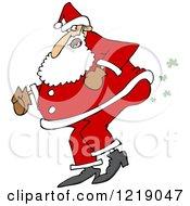 Santa Farting