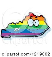 Gay Rainbow State Of Kentucky Character