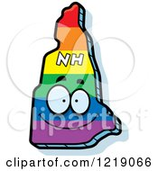 Gay Rainbow State Of New Hampshire Character