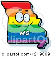 Gay Rainbow State Of Missouri Character