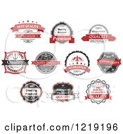 Retail Quality Labels With Sample Text 3