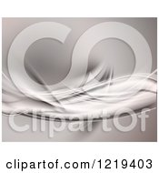 Clipart Of An Abstract Background With Dynamic Waves Royalty Free Illustration
