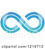 Clipart Of A Gradient Infinity Symbol 4 Royalty Free Vector Illustration