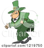St Patricks Day Leprechaun Farting