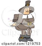 Male Pilgrim Farting