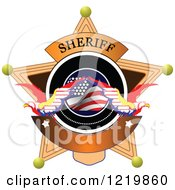 Clipart Of A Sheriff Badge 3 Royalty Free Vector Illustration