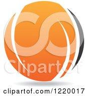 Black And Orange Sphere 6